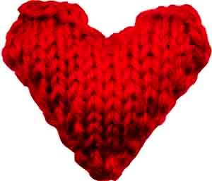 This is a picture of a heart, which is the To Your Heart's Content logo - SEO copywriting services with heart