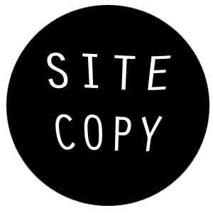 A website copy logo - part of our SEO content writing services