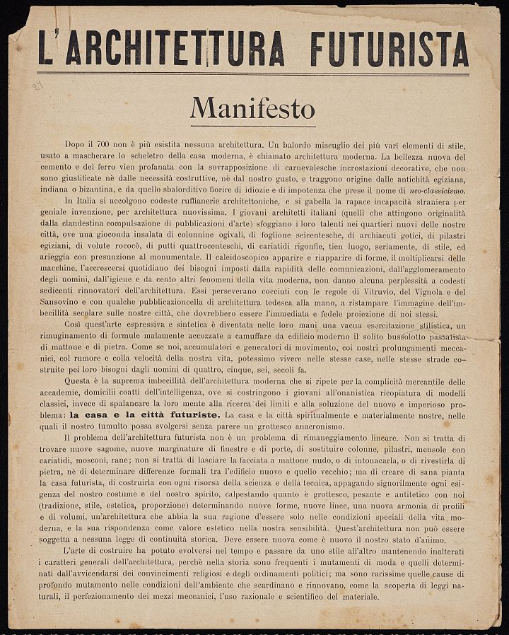 A manifesto for online content