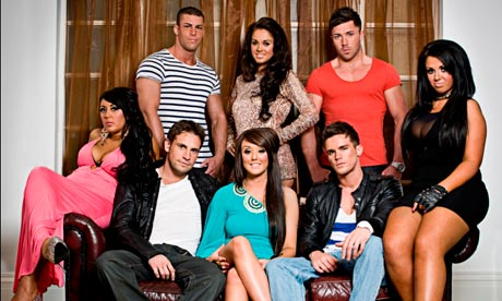 A picture of the cast of Geordie Shore - They love a night out but they're probably not the best copywriting agency