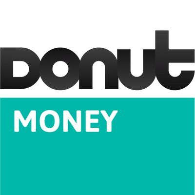Money Donut logo for copywriting portfolio